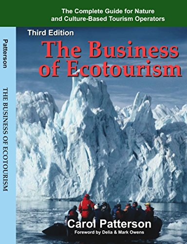 Book cover from The Business of Ecotourism by Carol Patterson
