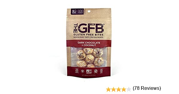 The GFB: Gluten Free Bites, Dark Chocolate Coconut, 4 Ounce: Amazon.es: Alimentación y bebidas