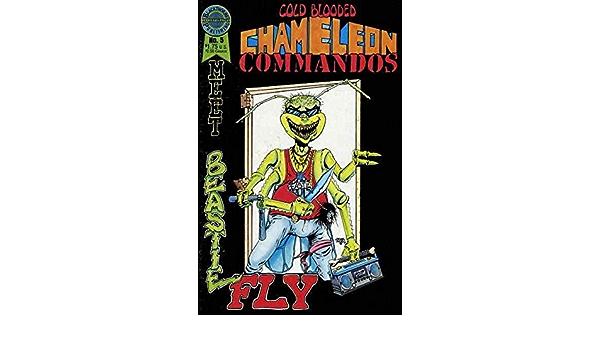 COLD BLOODED CHAMELEON COMMANDOS BL 1-5 COMPLETE