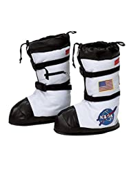 Aeromax ABT-LRG Astronaut Boots, White, Large