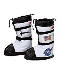 Aeromax ABT-LRG Astronaut Boots, White, Large