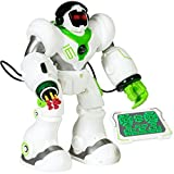 walking and talking robot - Best Choice Products Intelligent Remote Control RC Robot Talking Walking Shooting Light & Music Action Toys White