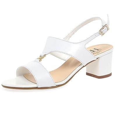 2b3757dea5614 H&B HB Carla Womens Dress Block Heel Sandals: Amazon.co.uk: Shoes & Bags