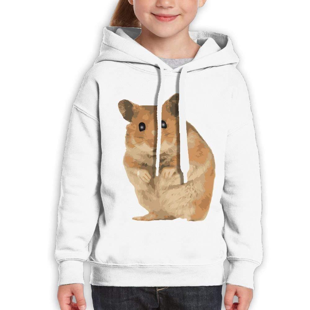 HKhoodies Childrens Sweatshirt Hoodie Hamster Kids