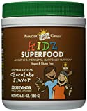 Amazing Grass Kidz Superfood Powder, Chocolate, 6.35-Ounce Container