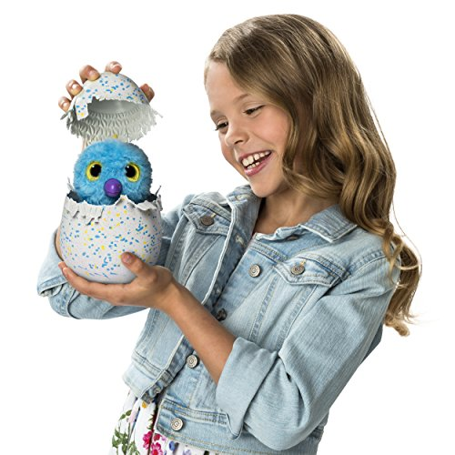 Hatchimals Glittering Garden - Hatching Egg - Interactive Creature – Shimmering Draggle by Spin Master by Hatchimals (Image #5)