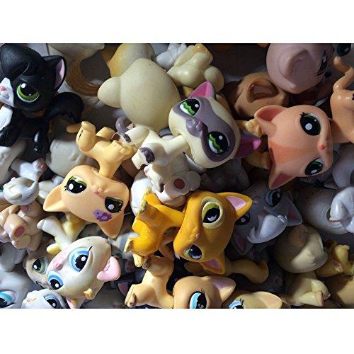 Littlest Pet Shop 10 PC Lot Random Surprise Grab Bag 5 Pets & 5 Accessories from Unbranded