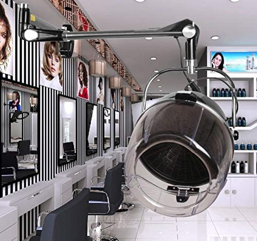Ridgeyard Wall Mounted Adjustable 900W Professional Salon Beauty Hair Dryer with Swing Arm