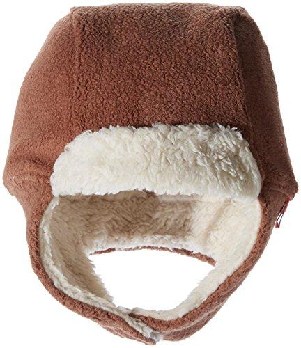 (Zutano Baby Cozie Fleece Furry Hat, Chocolate, 24M)