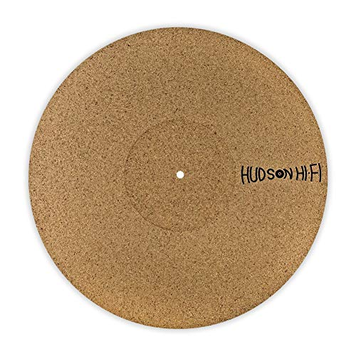 CoRkErY Recessed Turntable Platter Mat | Audiophile Anti-Static Slipmat | 1/8