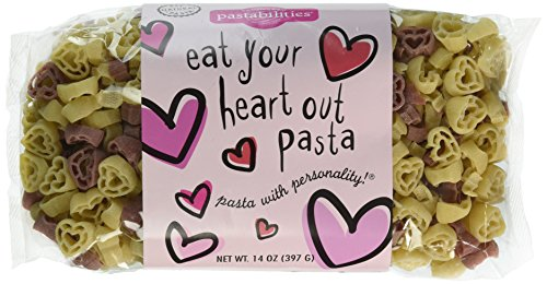 Heart Pasta 14 oz. pack of 2 (Heart Food Shaped)