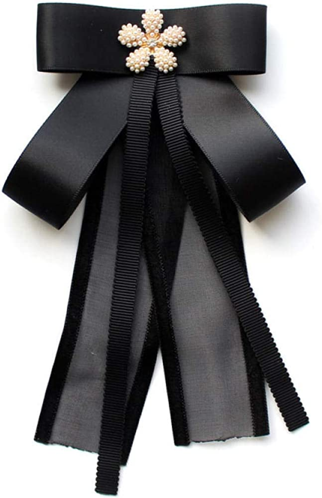 Broche Broches Para Mujer Broches Camisa Pajarita Corbata Femenina ...