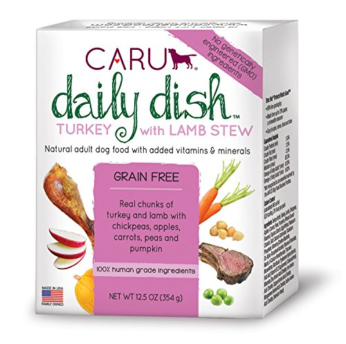 Caru Daily Dish Turkey with Lamb Stew Case (12 Pack - 12.5 Ounce ea)
