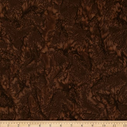 Robert Kaufman 0384567 Artisan Batiks Prisma Dyes Mottled Chocolate Fabric by the Yard