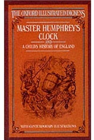 book cover of Master Humphrey\'s Clock
