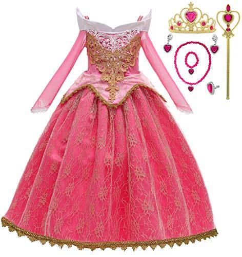 Romy's Collection Princess Toddler Girls Costume Dress Up Set