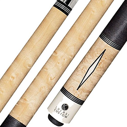 Lucasi Custom LZD2 Pool Cue Stick with Zero Flexpoint Low Deflection Shaft & Uni-loc Quick Release Joint
