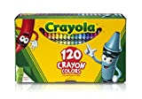 Crayola Classic Color Crayons, Tuck Box, 120 Colors (526920)