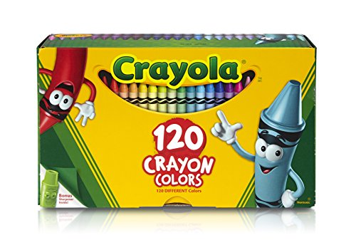 Crayola Classic Color Crayons, Tuck Box, 120 Colors (526920)]()