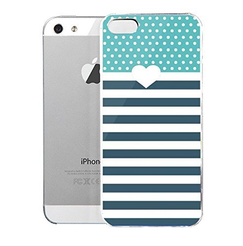 E-luckiycase PC Hard Shell Nyan Cat with White Skin Edges for Case For Iphone 5/5S Case