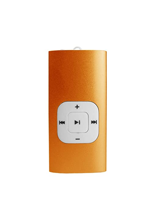 amazon com sylvania 2 gb clip mp3 player orange home audio theater rh amazon com