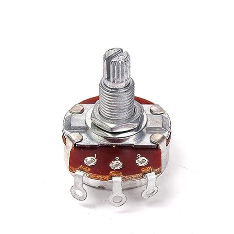 SUPVOX Potenciómetros de guitarra de audio A500K Controles de ...