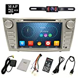 2008 toyota stereo - Hizpo Rear Camera Included For TOYOTA Camry 2007 2008 2009 2010 2011 8 inch Indash CAR DVD Player GPS Navigation Navi iPod Bluetooth HD Touchscreen Radio RDS FM+Free US GPS Map Card