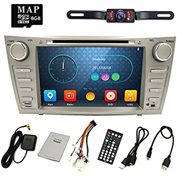 Amazon ottonavi toyota camry 07 11 in dash double din touch hizpo rear camera included for toyota camry 2007 2008 2009 2010 2011 8 inch indash car dvd player gps navigation navi ipod bluetooth hd touchscreen radio asfbconference2016 Gallery
