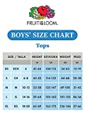 Fruit of the Loom boys Cotton White T Shirt