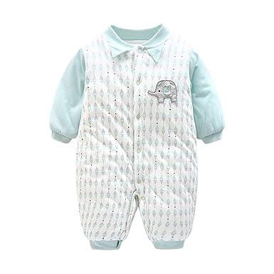 00e4c48d5 Amazon.com  Fairy Baby Infant Baby Unisex Cute Thick Cotton Romper ...