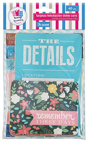 Cards Journalling (dohe 18135 – Pack of 40 Cards, Double Sided)