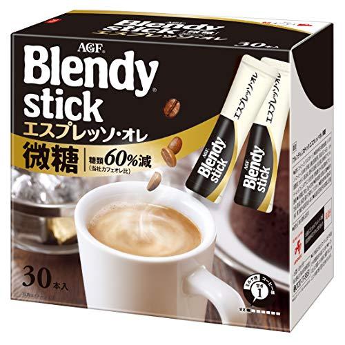 Blendy Stick Cafe Au Lait Low Sugar 0.35oz X 30pcs