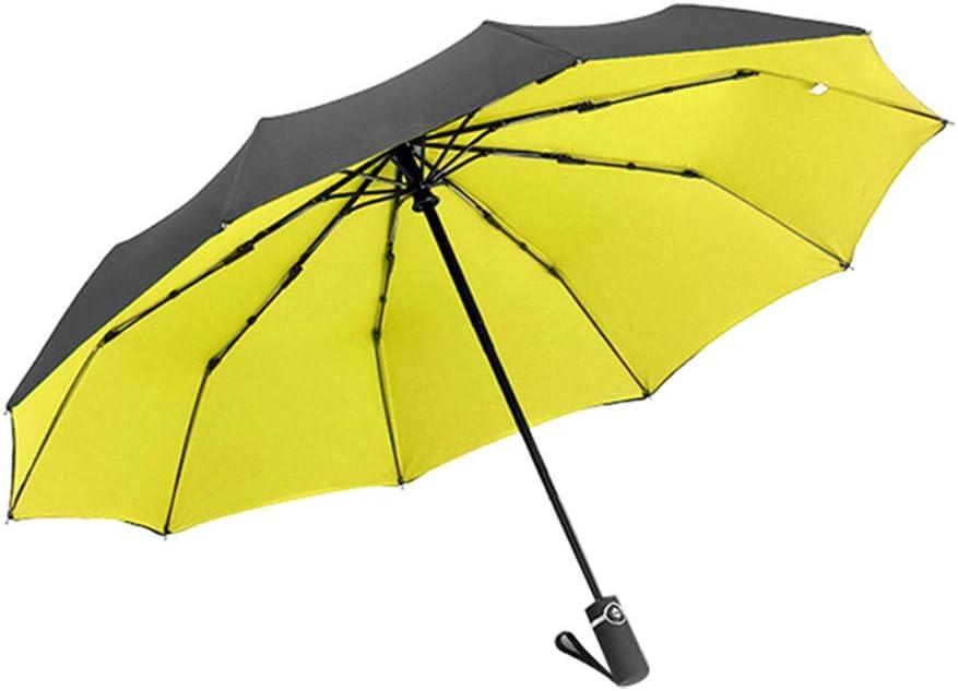 Red poign/ée antid/érapante pour Un Transport Facile Tissu WDOIT Parapluie de Voyage Automatique Double auvent Coupe-Vent /à s/échage Rapide 30 * 6cm