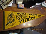 1971 Pittsburgh Pirates Pennant World Champs yellow