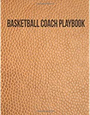 Basketball Coach Playbook: 2019-2020 Organizer Notebook for Coaches Featuring Calendar, Roster, Game Stats, Notes and Blank Play Design Court Pages