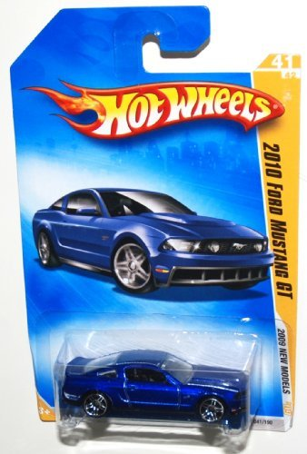 2009 Hot Wheels New Models, 2010 Ford Mustang GT, 41 of 42, 041/190 (1 Each)
