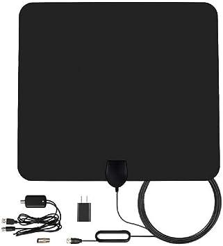 50 Miles/80 km Digital HDTV Antena TDT Interior – 01: Amazon ...