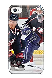Iphone Case - Tpu Case Protective For Iphone 5c- Columbus Blue Jackets Hockey Nhl (22)