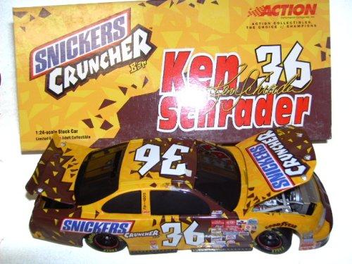 Action 2001 1/24 Ken Schrader Snickers Nascar Diecast
