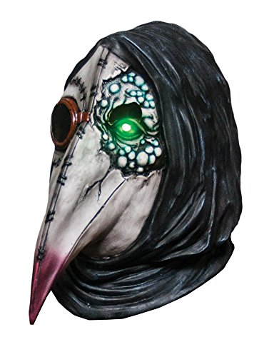 Morbid Enterprises Plague Dr. Mask, Grey/Black/Red/Green, One Size]()