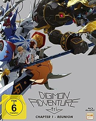Digimon Adventure tri. Chapter 1 - Reunion Alemania Blu-ray: Amazon.es: Motonaga, Keitaro: Cine y Series TV