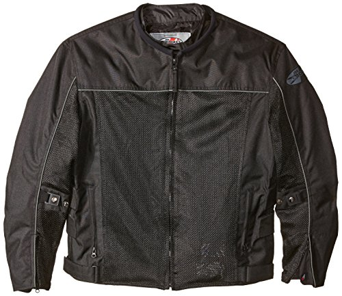 Joe Rocket Velocity Men's Mesh Riding Jacket (Black, ()