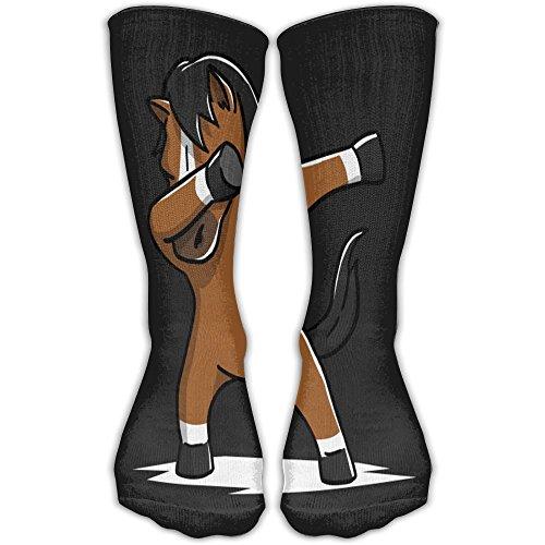 Cotton Balls Case Pack (BurningChampion Unisex Horse Dabbing Ankle Socks Sport Casual Socks Cotton Crew Socks Soccer Knee High Long Socks Stockings For Men Women)