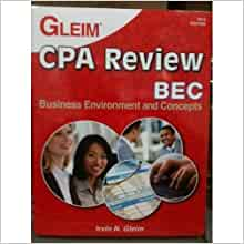 gleim ea review textbooks 2012