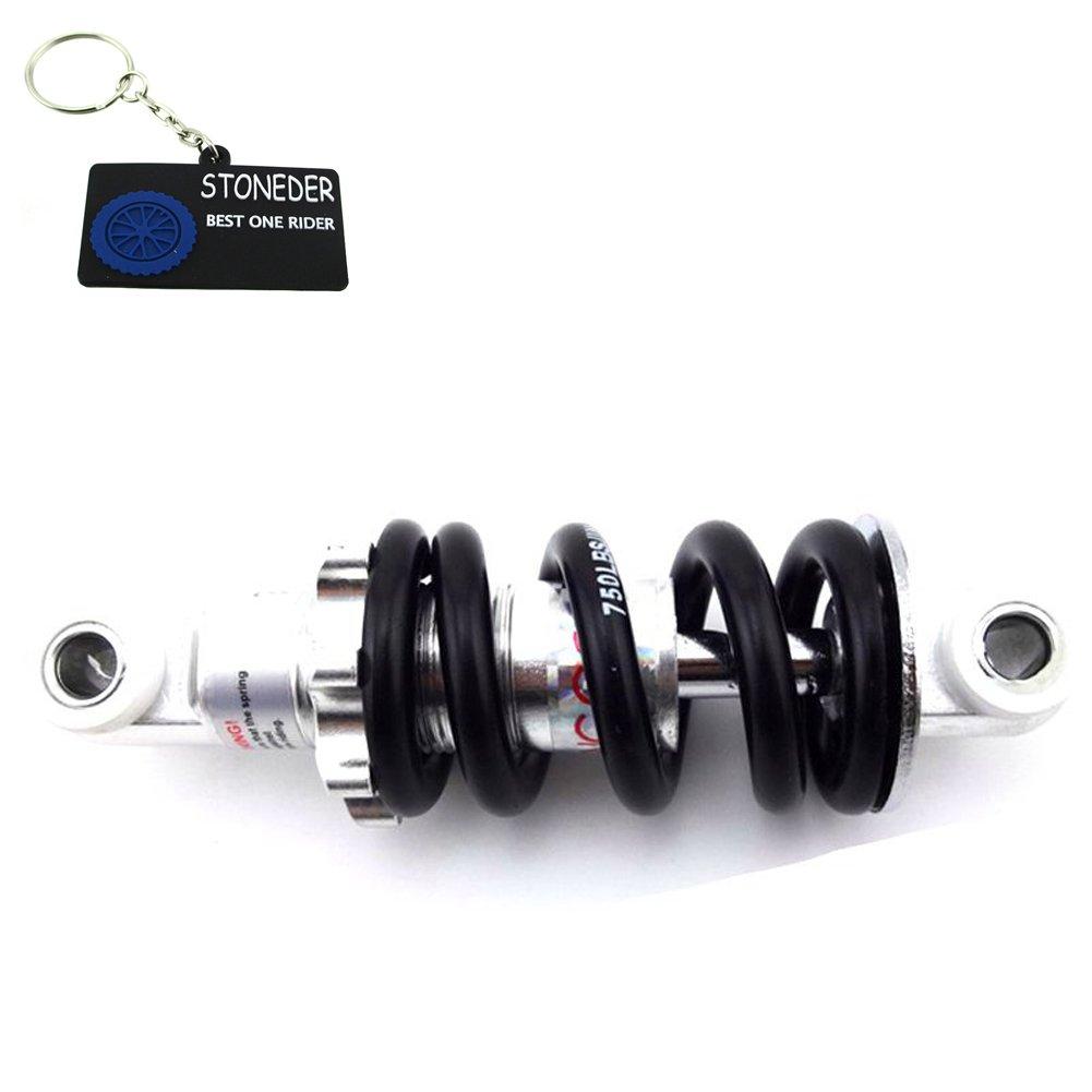 Stoneder Amortisseur arrière de suspension à ressort 125mm 544, 3kilogram pour 2temps 47cc 49cc MINI MOTO enfant chinois Pocket bike MINIMOTO
