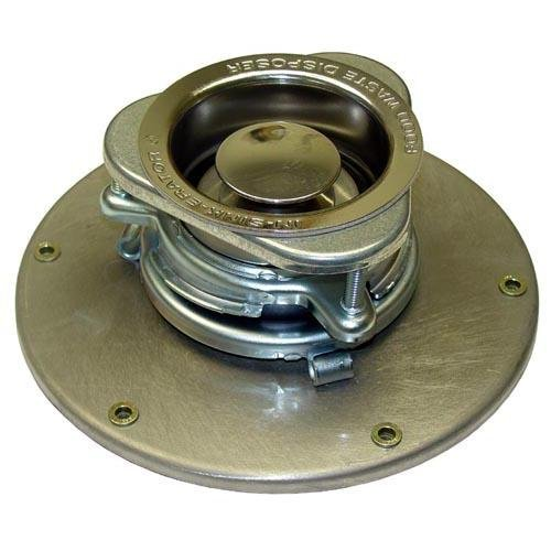 In-Sink-Erator IN-SINK-ERATOR 12506 3-1/2'' To 4'' Sink Opening Adapter, 9-1/4'' Dia Base Plate; 262775 by In-Sink-Erator