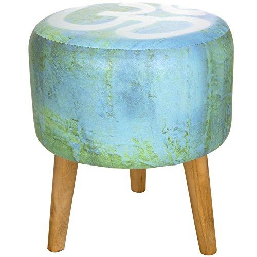 Oriental Furniture Om Meditation Stool