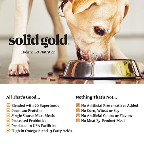 Solid Gold MMillennia Holistic Dry Dog Food, Beef & Brown Rice with Peas, Moderately Active Adult Dogs, All Sizes, 28lb Bag by Solid Gold (Image #7)