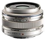 Olympus M.Zuiko 17mm f1.8 (Silver) for Olympus and Panasonic Micro 4/3 Cameras