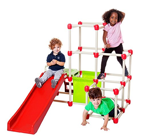 Lil Monkey Everest Climber GYM Foldable Frame Structure With Slide 1.5 Meter hight